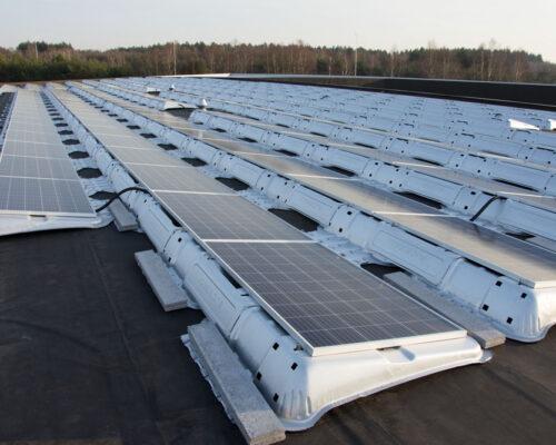 zonnepanelen zuid plat dak
